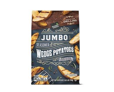 Season's Choice Jumbo Seasoned Wedge Potato View 1