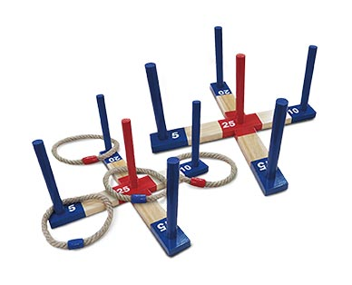 Crane Wooden Dice or Ring Toss View 1