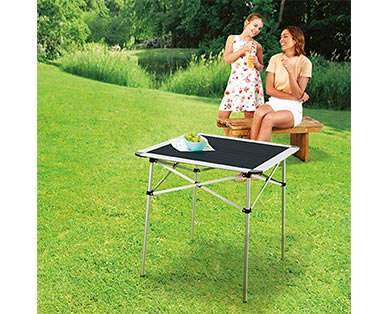 Adventuridge Portable Aluminum Folding Table View 2