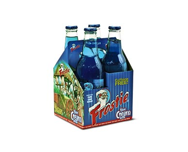 Frostie Root Beer or Blue Cream 4-Pack Soda View 1