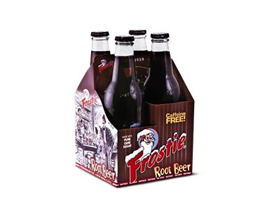 Frostie Root Beer or Blue Cream 4-Pack Soda View 2