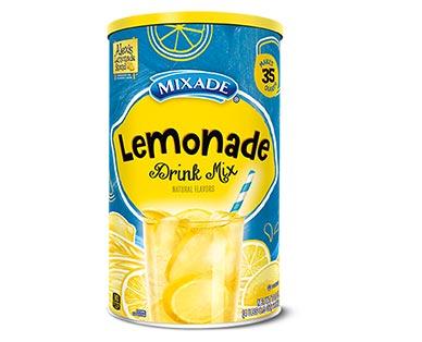 Mixade Lemonade Mix View 1