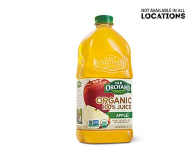 Old Orchard 100% Organic Apple Juice View 1