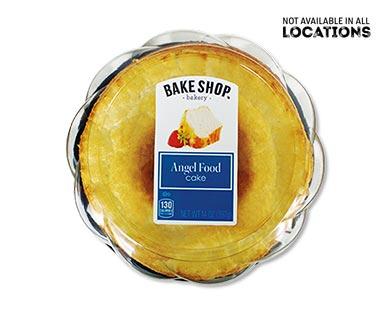 Bake Shop Angel Food Cake View 1