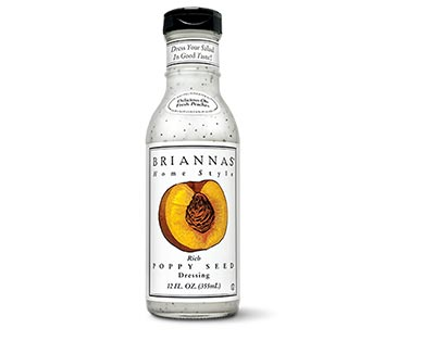 Briannas Rich Poppy Seed or Creamy Cilantro Lime Dressing View 2