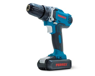 Ferrex 20V Cordless Drill or Power Inflator View 1