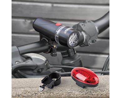 Bikemate LED Bicycle Light Set View 2