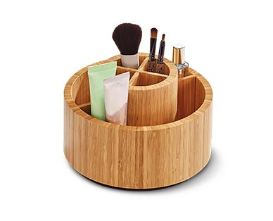 Easy Home Bamboo Cosmetic or Swivel Organizer View 2