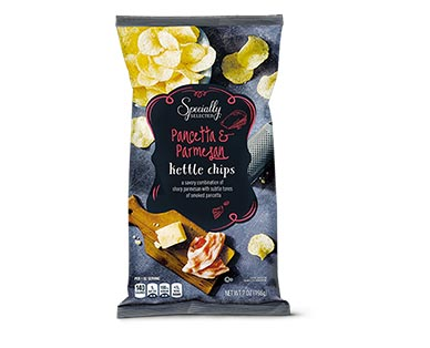Specially Selected Balsamic Vinegar & Rosemary or Pancetta & Parmesan Kettle Chips View 2