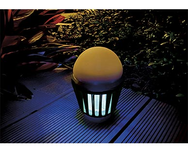 Gardenline 3-in-1 Portable Zapper with Lantern View 2