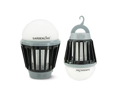Gardenline 3-in-1 Portable Zapper with Lantern View 1