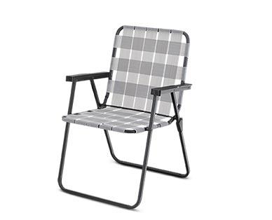 Gardenline Folding Web Chair View 2