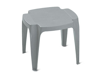 Gardenline Resin Stacking Side Table View 1