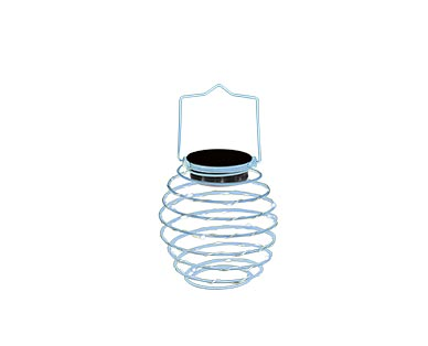 Gardenline Spiral Solar Lantern View 1