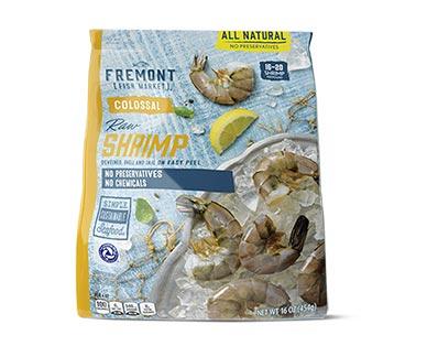 Fremont Fish Market Colossal Easy Peel Raw Shrimp View 1