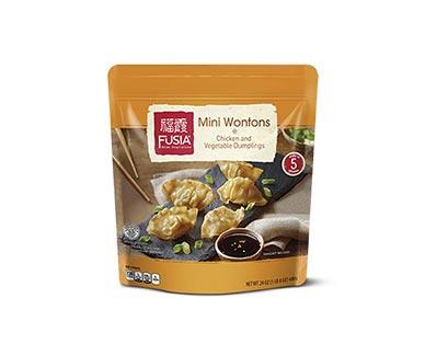 Fusia Mini Wontons Pork or Chicken View 1