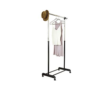Easy Home Expandable Garment Rack View 1