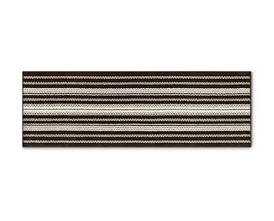 Huntington Home 2' x 6' Berber Stripe Utility Runner View 2