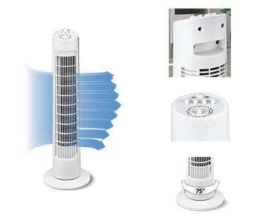 Easy Home Tower Fan View 5