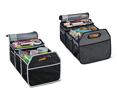 Auto XS Trunk Organizer with Cooler View 3