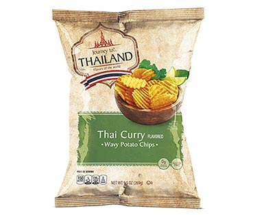 Journey To... India and Thailand Tandoori Barbecue or Thai Curry Potato Chips View 2