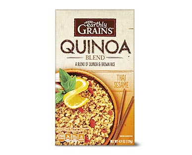 Earthly Grains Flavored Quinoa Blends Assorted Varieties View 3