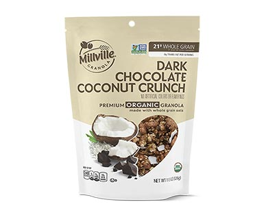 Millville Organic Chocolate Granola Assorted varieties View 1