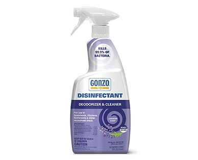 Gonzo Disinfectant Trigger Lavender View 1