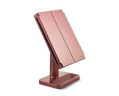 Visage Tri-Fold LED Vanity Mirror View 4