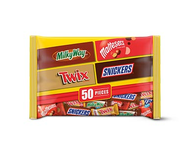 Mars Milky Way, Snickers, Maltesers, Twix 50 Pieces View 1