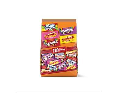 Mars LifeSaver Gummies, Skittles & Starburst 170 Pieces View 1