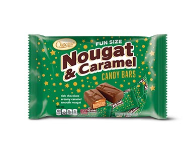Choceur Cookie & Caramel, Nougat & Caramel or Peanut & Caramel Bars View 2