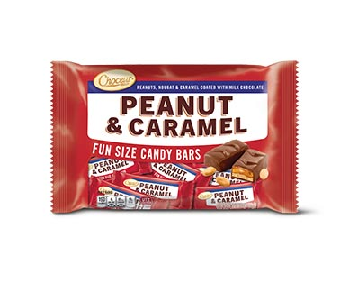 Choceur Cookie & Caramel, Nougat & Caramel or Peanut & Caramel Bars View 3