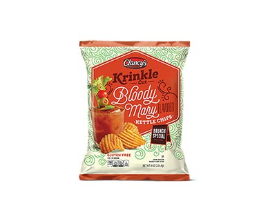 Clancy's Bloody Mary or Moscow Mule Krinkle Cut Kettle Chips View 1