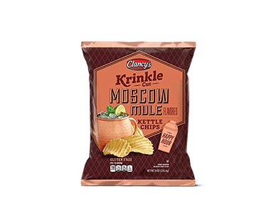 Clancy's Bloody Mary or Moscow Mule Krinkle Cut Kettle Chips View 2