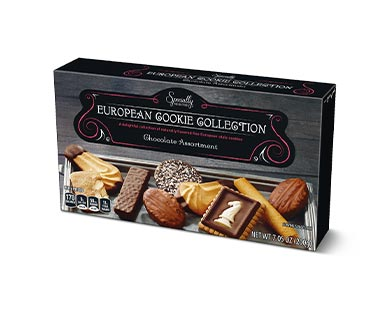 Specially Selected European Cookie Collection Original or Chocolate View 1