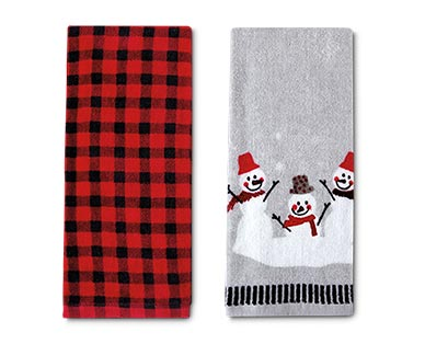 Merry Moments 2-Piece Holiday Towel Set View 3