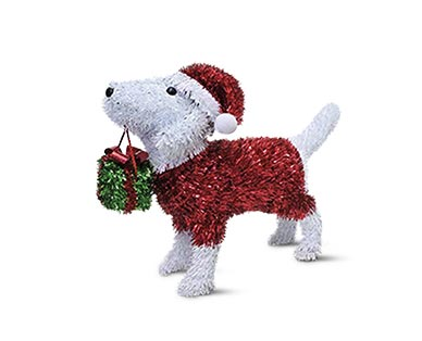 Merry Moments Holiday Tinsel Figurine View 1