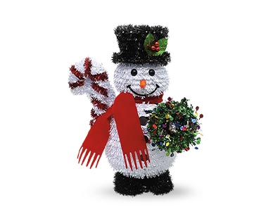 Merry Moments Holiday Tinsel Figurine View 2