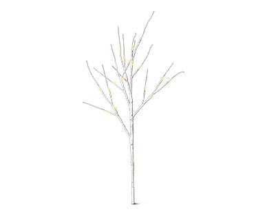 Merry Moments Outdoor Lighted Birch Trees View 1