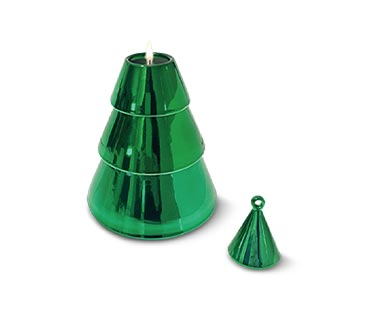 Huntington Home Stackable Christmas Tree or Snowman Candle View 4