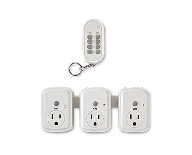 Easy Home Indoor or Outdoor Remote Outlets View 1