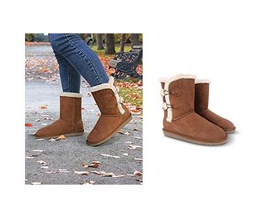 Serra Ladies' Suede Boots   ALDI US