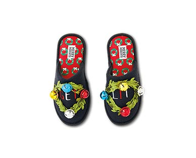 Merry Moments Novelty Holiday Slippers View 4