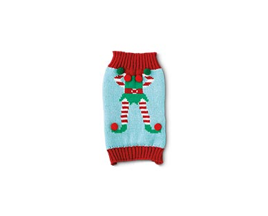 Heart to Tail Holiday Pet Sweater View 2