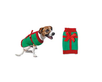 Heart to Tail Holiday Pet Sweater View 3