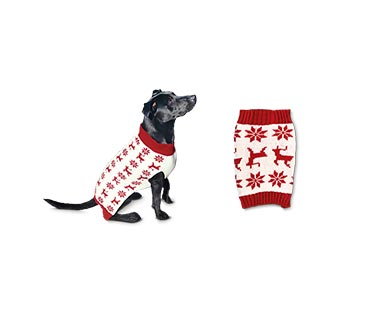 Heart to Tail Holiday Pet Sweater View 5