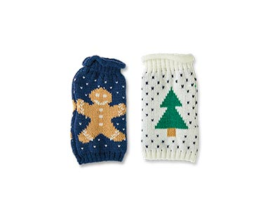 Merry Moments 2-Pack Ugly Sweater Beer/Slim Can Covers View 1