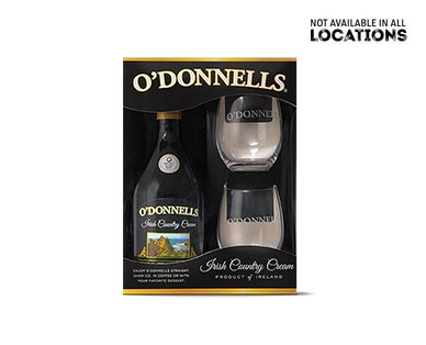 O'Donnells Irish Cream Gift Pack View 1