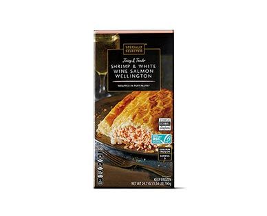 Specially Selected Salmon Wellington View 2